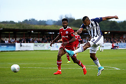 West Brom's Salomon Rondon fires a shot at goal  - Mandatory by-line: Matt McNulty/JMP - 22/08/2017 - FOOTBALL - Wham Stadium - Accrington, England - Accrington Stanley v West Bromwich Albion - Carabao Cup - Second Round