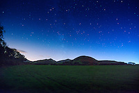 Brecon Beacons from North East<br /> Dark Skies<br /> Powys<br /> South