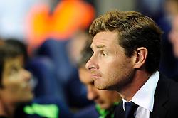 Tottenham Hotspur Manager, Andre Villas Boas  - Photo mandatory by-line: Dougie Allward/JMP - Tel: Mobile: 07966 386802 27/08/2013 - SPORT - FOOTBALL - White Hart Lane - London - Tottenham Hotspur V Dinamo Tbilisi -  UEFA EUROPA LEAGUE - PLAY-OFF - SECOND LEG
