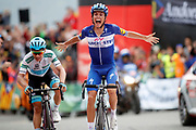 Enric Mas (ESP - QuickStep - Floors) during the 73th Edition of the 2018 Tour of Spain, Vuelta Espana 2018, 20th stage Andorra Escaldes Engordany - Coll de la Gallina 97.3 km on September 15, 2018 in Spain - Photo Luca Bettini / BettiniPhoto / ProSportsImages / DPPI