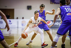 Vasic  Lazar of Serbia during basketball match between National teams of Serbia and Italy in the 9th place Classifications of FIBA U18 European Championship 2019, on August 4, 2019 in Portaria Hall, Volos, Greece. Photo by Vid Ponikvar / Sportida