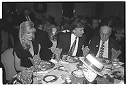 Marla Maples,  Donald Trump, Joey Adams,, Imelda Marcos. Joey Adams party. New York. 7/1/90.