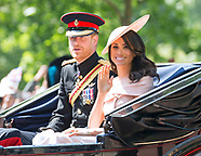 Meghan Markle's 1st Trooping The Colour