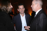 DAVID DORRELL, MATTHEW SLOTOVER AND NEIL TENNANT, Turner Prize 2005. Tate Britain.   5 December  2005. ONE TIME USE ONLY - DO NOT ARCHIVE  © Copyright Photograph by Dafydd Jones 66 Stockwell Park Rd. London SW9 0DA Tel 020 7733 0108 www.dafjones.com