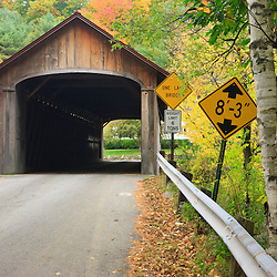 Built in 1837, Coombs Covered Bridge is 118 feet long and spans the Ashuelot River in Winchester, new Hampshire.