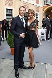 June 19, 2017 - Monaco, Monaco - 57th Monte-Carlo Television Festival cocktail at the Palace of Monaco. Neil Jackson and Borislava Stratieva. (Credit Image: © Visual via ZUMA Press)