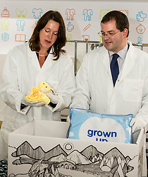 Pictured: Dr Catherine Calderwood and Mark McDonald<br /> Minister for Childcare and Early Years, Mark McDonald, was joined by Scotland's chief medical officer, Dr Catherine Calderwood, when he visited the Baby Box distribution centre in Edinburgh ahead of the nationwide roll-out.<br /> Ger Harley | EEm 14 August  2017
