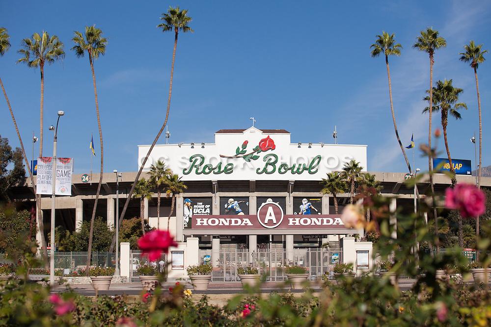 Rose Bowl Stadium of Pasadena a National Historic Landmark