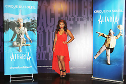 © London News PIctures. Vanessa White, Cirque Du Soleil Alegria opening night, O² Arena, London UK, 18 July 2013. Photo credit: Richard Goldschmidt/LNP