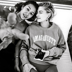 """Hailey Baldwin releases a photo on Instagram with the following caption: """"sis @keliamoniz \ud83d\udcf8 @joetermini"""". Photo Credit: Instagram *** No USA Distribution *** For Editorial Use Only *** Not to be Published in Books or Photo Books ***  Please note: Fees charged by the agency are for the agency's services only, and do not, nor are they intended to, convey to the user any ownership of Copyright or License in the material. The agency does not claim any ownership including but not limited to Copyright or License in the attached material. By publishing this material you expressly agree to indemnify and to hold the agency and its directors, shareholders and employees harmless from any loss, claims, damages, demands, expenses (including legal fees), or any causes of action or allegation against the agency arising out of or connected in any way with publication of the material."""