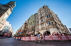 Matej Mohoric of Slovenia during the Men's Elite Road Race a 258.5km race from Kufstein to Innsbruck 582m at the 91st UCI Road World Championships 2018 / RR / RWC / on September 30, 2018 in Innsbruck, Austria. Photo by Vid Ponikvar / Sportida