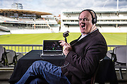 Dara O'Briain at Lords to for Egland Ireland One Day Internationals
