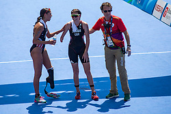 STEADMAN Lauren, GBR, Para-Triathlon, PT4, NORMAN Grace, USA at Rio 2016 Paralympic Games, Brazil