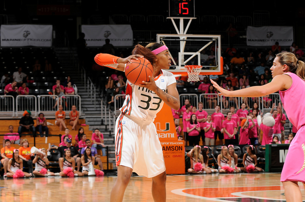 2012 Miami Hurricanes Women's Basketball vs Florida State
