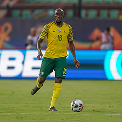 Sandile S'fiso Hlanti of South Africa during the African Cup of Nations match between South Africa and Morocco on July 1st, 2019. Photo : Ulrik Pedersen / Icon Sport