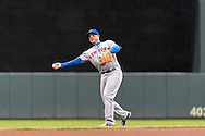 David Wright #5 of the New York Mets warms up before a game against the Minnesota Twins on April 13, 2013 at Target Field in Minneapolis, Minnesota.  The Mets defeated the Twins 4 to 2.  Photo: Ben Krause