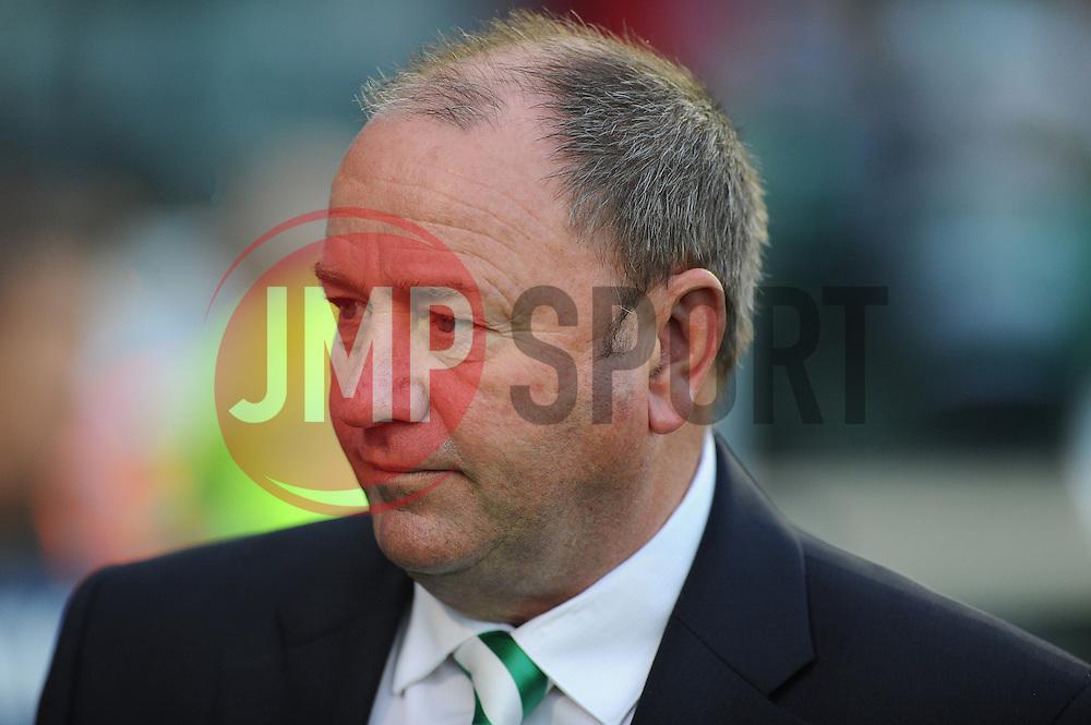 Yeovil Town Manager, Gary Johnson  - Photo mandatory by-line: Alex James/JMP - Tel: Mobile: 07966 386802 25/08/2013 - SPORT - FOOTBALL - Cardiff City Stadium - Cardiff -  Cardiff City V Manchester City - Barclays Premier League