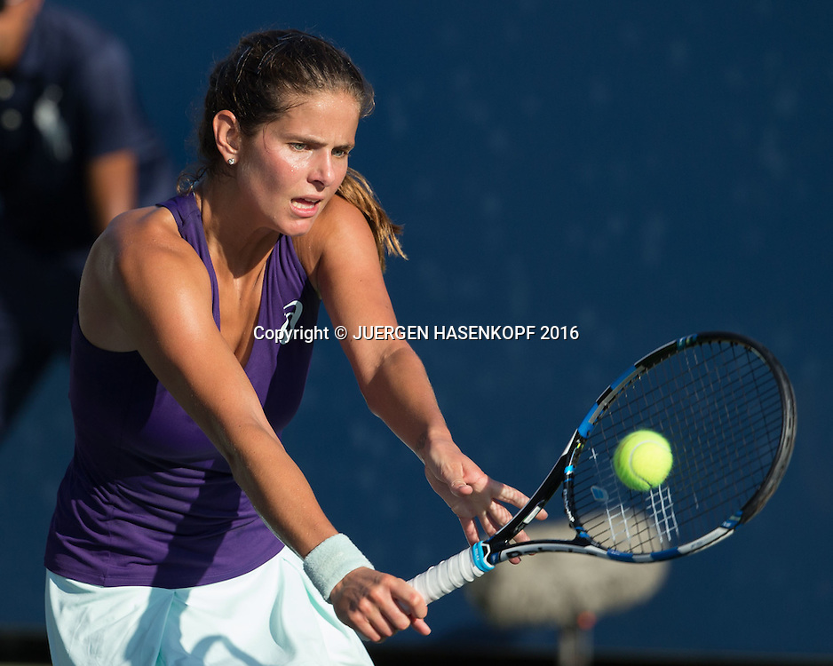 JULIA GOERGES (GER)<br /> <br /> Tennis - US Open 2016 - Grand Slam ITF / ATP / WTA -  USTA Billie Jean King National Tennis Center - New York - New York - USA  - 30 August 2016.