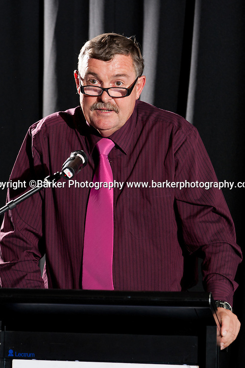 Northern Districts Cricket Awards, Cliff Dickeson, Northern Spirit Coach, Tainui Novotel Hotel, Friday 8 April 2011, Hamilton, New Zealand.  Photo: Stephen Barker/Barker Photography/PHOTOSPORT  ©Barker Photography www.barkerphotography.co.nz