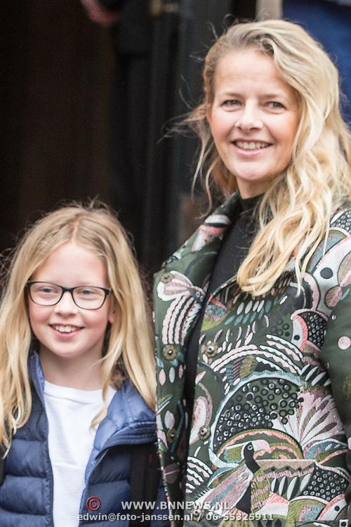 NLD/Amsterdam/20180203 - 80ste Verjaardag Pr. Beatrix, prinses Mabel en prinses Zaria