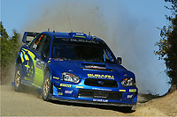 AUTO - WRC 2005 - NEW ZEALAND RALLY - AUCKLAND 10/04/2005 - PHOTO : DIGITALSPORT<br />