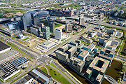 Nederland, Noord-Holland, Amsterdam, 09-04-2014; Bullewijk, stadsdeel Amsterdam Zuidoost. Kantoren rond Holterbergweg en Hoogoorddreef.<br /> Business park southeast Amsterdam.<br /> luchtfoto (toeslag op standard tarieven);<br /> aerial photo (additional fee required);<br /> copyright foto/photo Siebe Swart