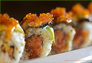 Allston, MA 101608    Detail of Bob's Maki  at Privus Lounge & Sushi in Allston was photographed on October 16, 2008. (Essdras M Suarez/ Globe Staff)/ Food