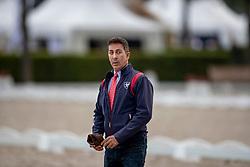 DOWER Robert (Nationaltrainer USA)<br /> Aachen - CHIO 2018<br /> Grand Prix Special<br /> 20. Juli 2018<br /> © www.sportfotos-lafrentz.de/Stefan Lafrentz