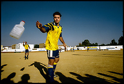 Andalucia, Spain<br /> A player during the match in Viso del Alcor in Sevilla.<br /> &copy; Carmen Secanella.