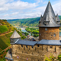 Burg Stahleck Bacharach Germany on the River Rhine