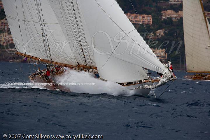 Eleonora racing at Regates Royales