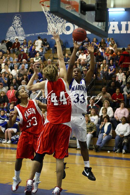 MCHS Varsity Boys Basketball.vs George Mason.1/11/2008.