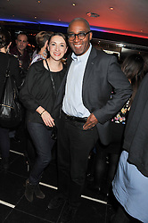 HELEN VEALE and TREVOR PHILLIPS at a party to celebrate the opening of the Rum Shack, Floridita, 100 Wardour Street, London on 1st February 2013.