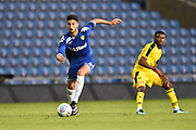 Hugo Diaz (44) of Leeds United on the attack during the Pre-Season Friendly match between Oxford United and Leeds United at the Kassam Stadium, Oxford, England on 24 July 2018. Picture by Graham Hunt.