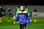 Lloyd James (4) of Exeter City warming up before the EFL Sky Bet League 2 match between Exeter City and Luton Town at St James' Park, Exeter, England on 17 October 2017. Photo by Graham Hunt.