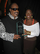 Stevie Wonder with India.Arie.The Dream Concert to raise funds for the Washington, DC, Martin Luther King, Jr National Memorial. -Backstage-.Organized by Quincy Jones, Tommy Hilfiger and Russell Simmons.Radio City Music Hall.New York City, NY, USA .Tuesday, September 18, 2007.Photo By Selma Fonseca/ Celebrityvibe.com.To license this image call (212) 410 5354 or;.Email: celebrityvibe@gmail.com; .