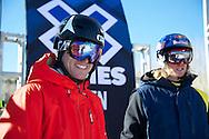 Andreas Hatveit during Men's Ski Slopestyle Practice at the 2013 X Games Aspen at Buttermilk Mountain in Aspen, CO.  Brett Wilhelm/ESPN