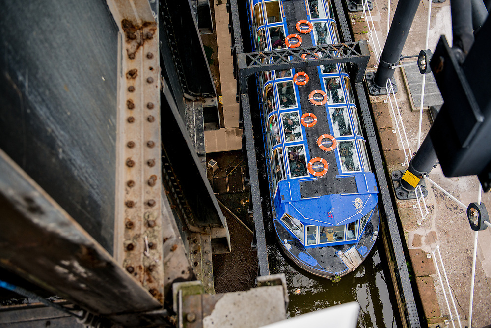 The Canal and River Trust asked Ioan Said Photography to capture the essence of Anderton Boat Lift as a family attraction