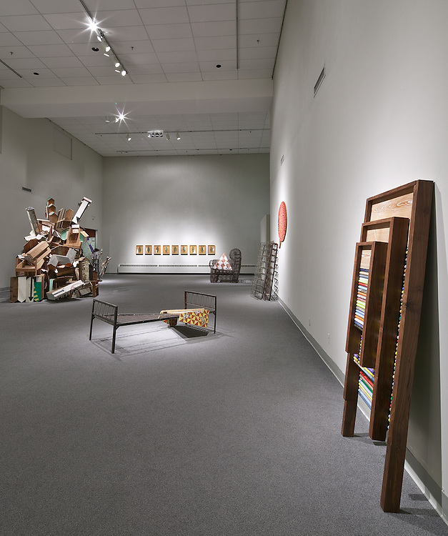 "This image was made at The Art Museum of The University of Memphis as part of the citywide exhibition ""and exactly Twenty Years"" that featured Greely Myatt's work."