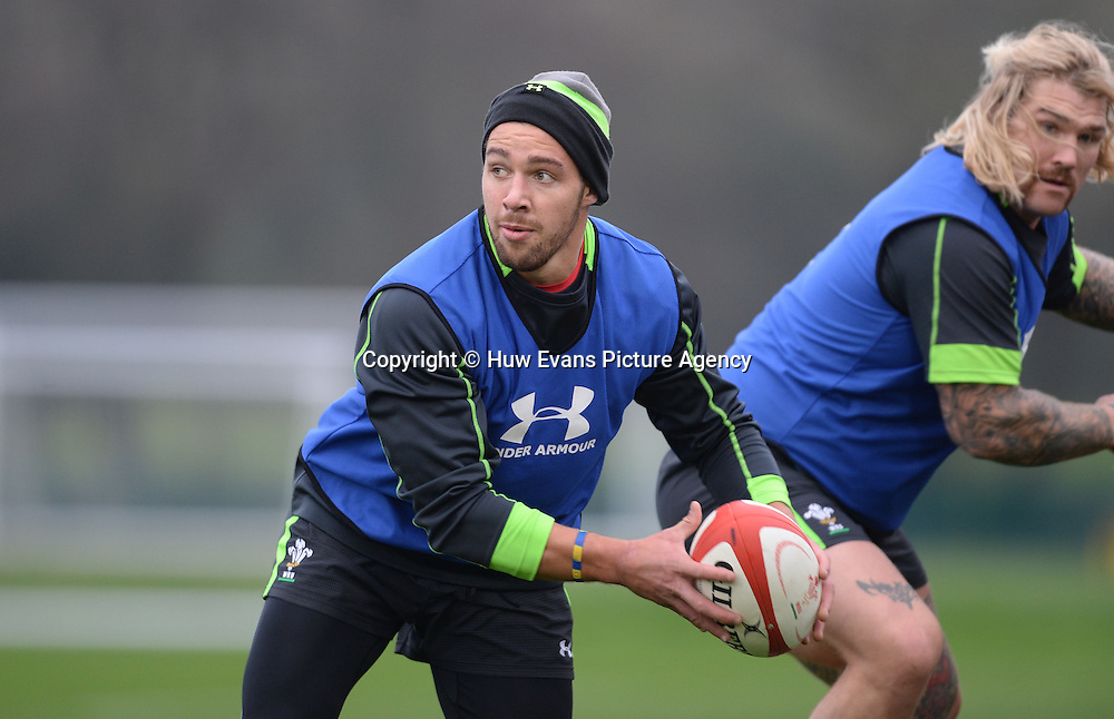 20.11.14 - Wales Rugby Training -<br /> Rhys Webb during training.<br /> &copy; Huw Evans Picture Agency
