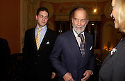 Prince  Michael of Kent and Lord Freddie Windsor. andrew Roberts and Leonie Frieda celebrate the publication of Andrew's 'Waterloo: Napoleon's Last Gamble' and the paperback of Leonie's 'Catherine de Medic'i. English-Speaking Union, Dartmouth House. London. 8 February 2005. ONE TIME USE ONLY - DO NOT ARCHIVE  © Copyright Photograph by Dafydd Jones 66 Stockwell Park Rd. London SW9 0DA Tel 020 7733 0108 www.dafjones.com