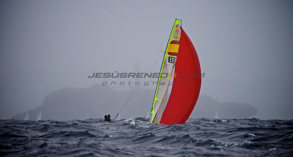 CIUDAD DE SANTANDER Trophy, Isaf sailing World Championships test event