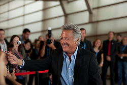 Actor Dustin Hoffman during the Sebastian Film Festival, September 29, 2012. Photo By Nacho Lopez / DyD Fotografos / i-Images..SPAIN OUT