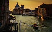 Dawn View, The Ponte dell'Accademia, Venice, Italy