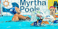 05-08-2015: Waterpolo: Italie v Nederland: Kazan<br /> <br /> Nomi Stomphorst of team Netherlands<br /> <br /> Waterpolo match between ladies of Italy and The Netherlands during the 16th FINA World Championships 2015 in Kazan