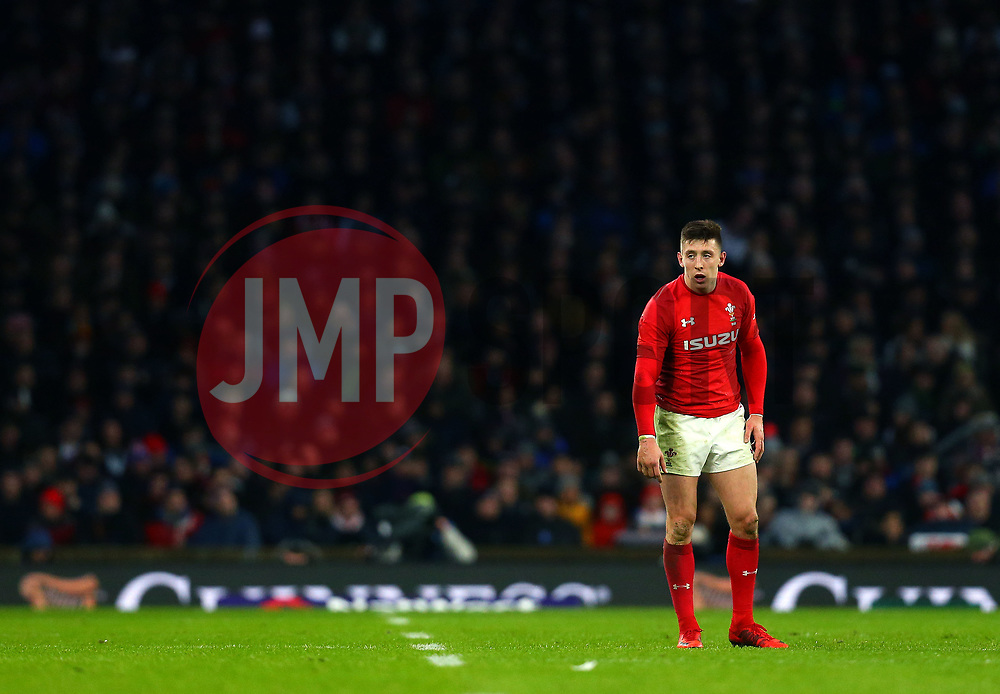 Josh Adams of Wales - Mandatory by-line: Robbie Stephenson/JMP - 10/02/2018 - RUGBY - Twickenham Stoop - London, England - England v Wales - Women's Six Nations