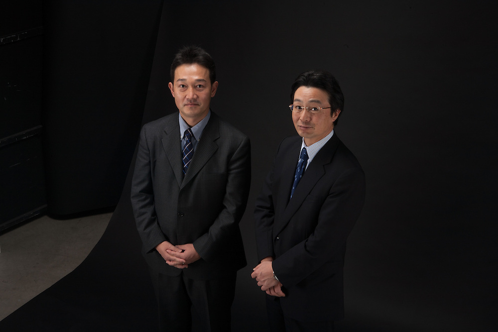 Hidemaru Yamaguchi  (left) -Nikkocitigroup.Managing Director Equity Reasearch..Nobuyuki Saji (rt) Mitsubishi UFJ Securities.Chief Economist & Equity Strategist.General Manager  Equity Research.March 2007