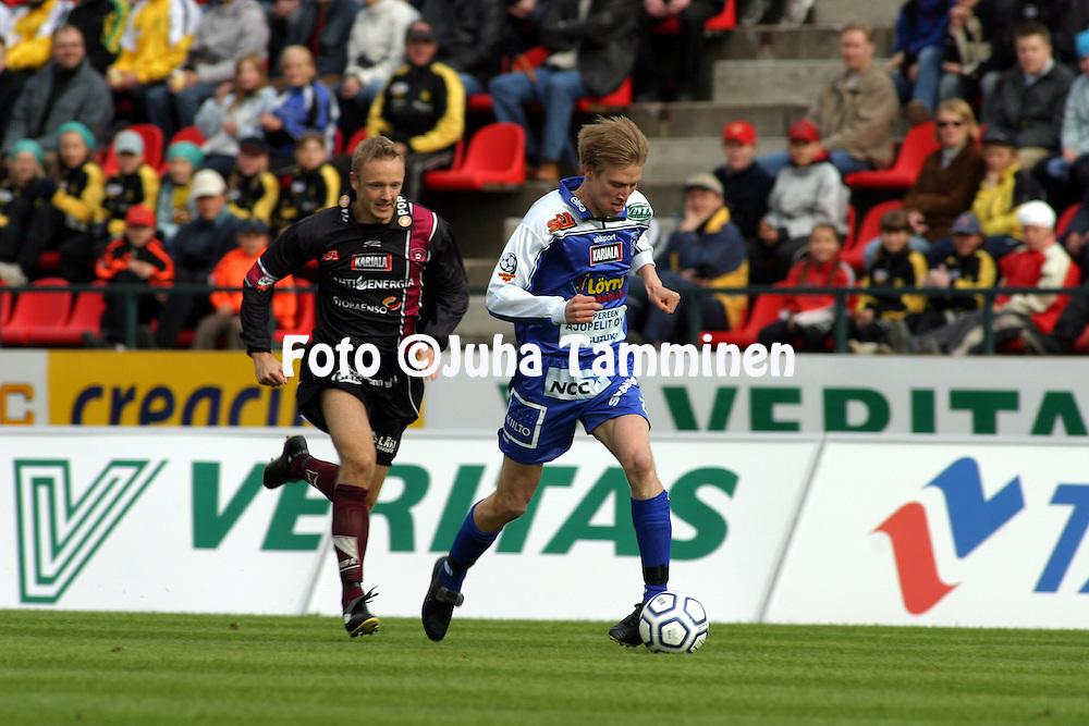 23.05.2004, Ratina, Tampere, Finland..Veikkausliiga 2004 / Finnish League 2004.Tampere United v FC Lahti.Henri Scheweleff - TamU.©Juha Tamminen