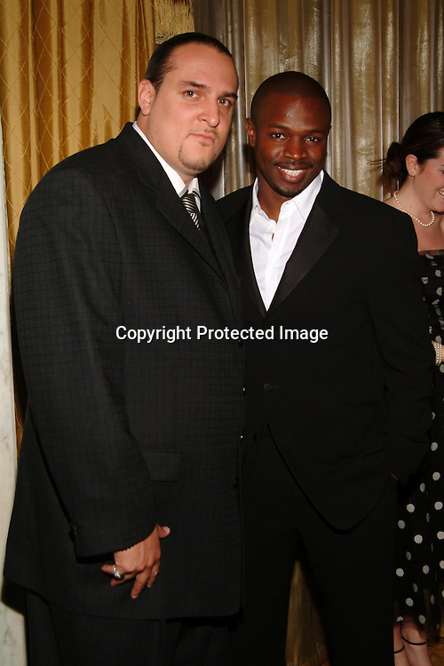 T-Bone and Clifton Davis<br />