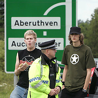 G8 Security Gleneagles Hotel...04.07.05<br />